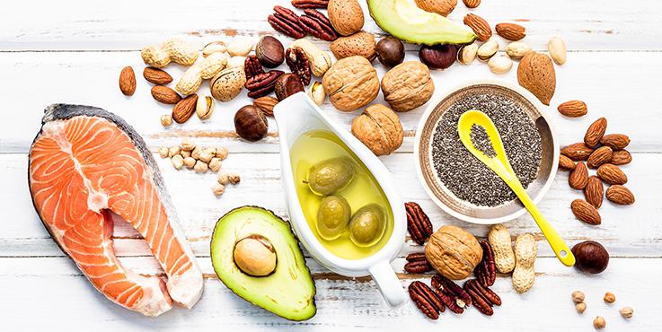Aliments riches en graisses saines pour le cœur