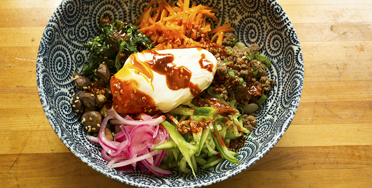 Korean Bibimbap Healthy Dinner Ideas Heart Foundation