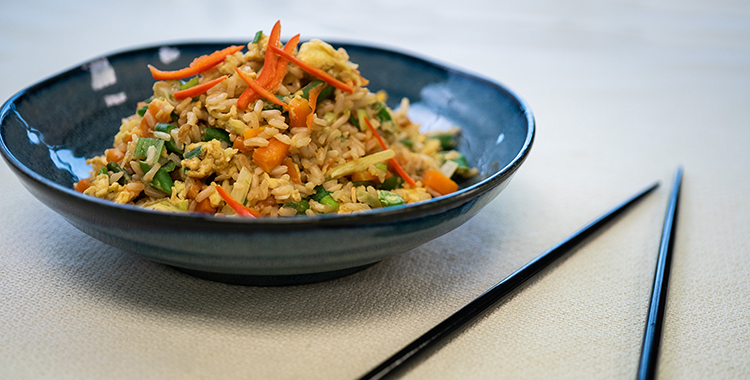 Egg Fried Rice Healthy Recipes Dinner Ideas Heart Foundation