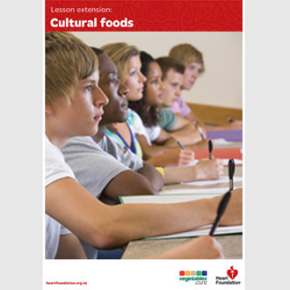 Cultural foods lesson plan teaching resource