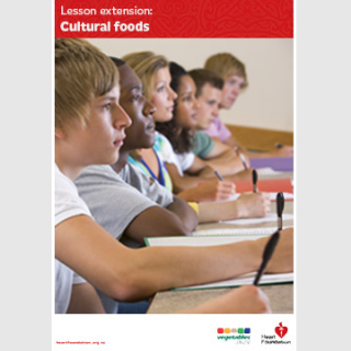 Cultural food lesson plan