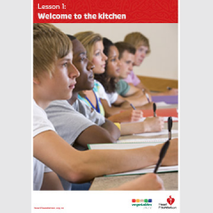Welcome to the kitchen lesson plan