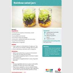 Salad jar recipe