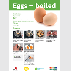 Boiled eggs skill card