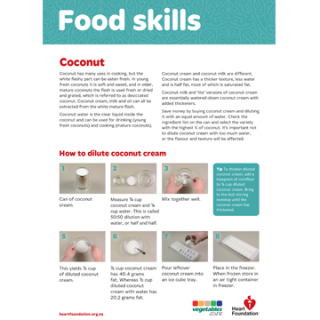 Coconut skill card