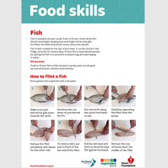 Fish fillet skill card