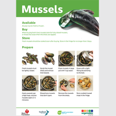 Mussels skill card preview