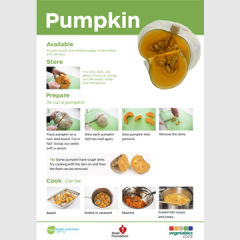 Pumpkin skill card recipe teaching resource