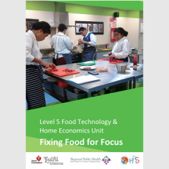 Fixing food for focus unit plan cover