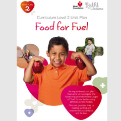 Food for Fuel unit plan cover