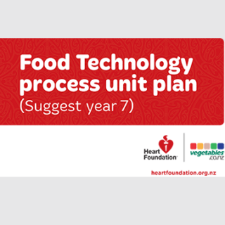 Food Technology unit plan year 7