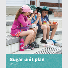 Sugar unit plan