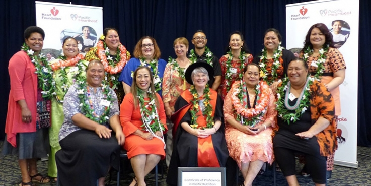 Pacific nutrition course graduates
