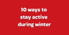 Winter exercise tips