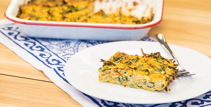 easy baked frittata recipe