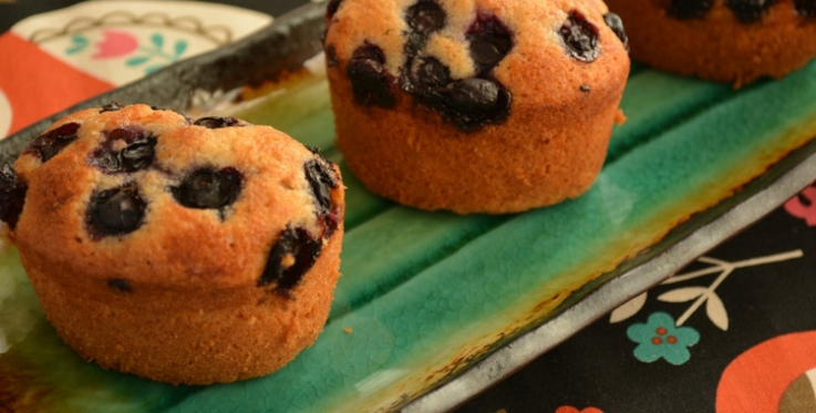 blueberry friand recipe