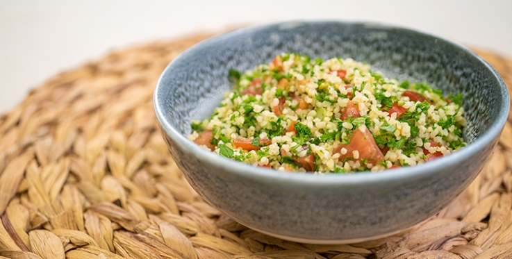Bulgur wheat tabbouleh recipe