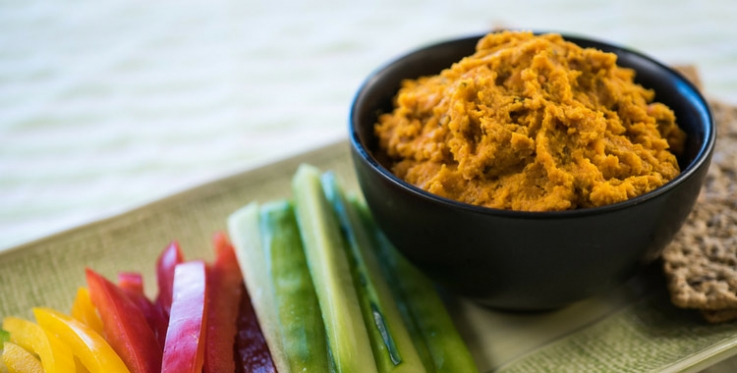 Carrot and cumin spread recipe
