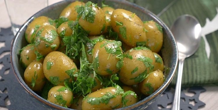 Herbed christmas potatoes
