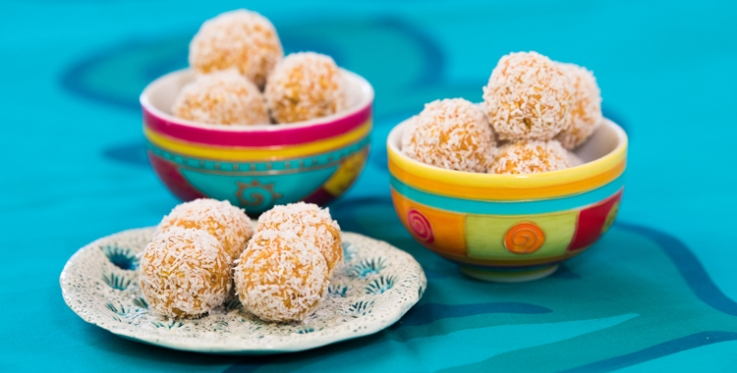 Oaty carrot bliss balls recipe