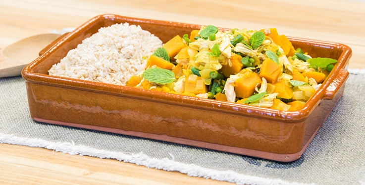 pumpkin chicken curry recipe