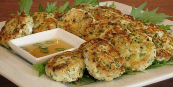 Thai fish cake healthy recipe