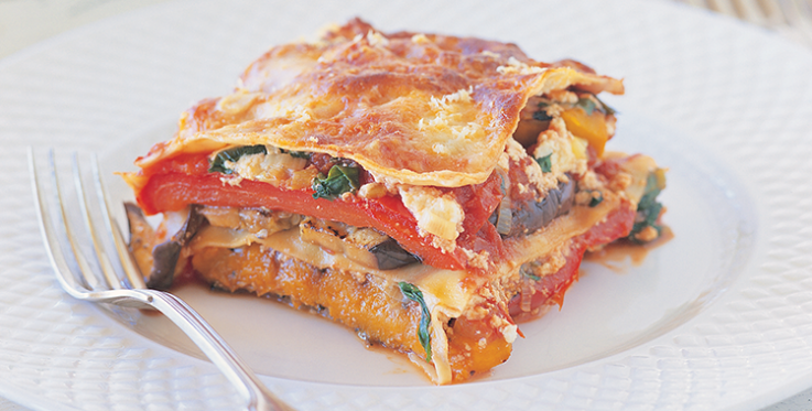 Vegetarian Lasagne Healthy Dinner Ideas Heart Foundation
