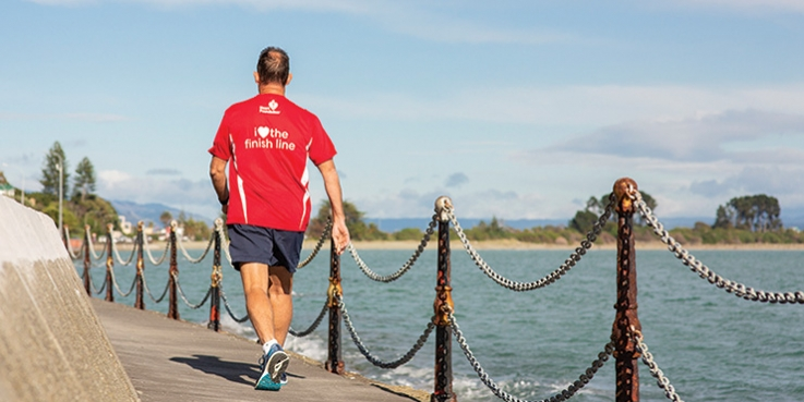 Steve McIntyre will take on the Wellington half marathon