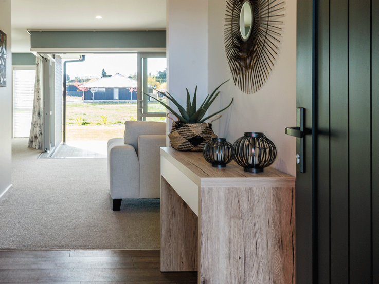 Inside space of Lake Hawea Heart Foundation Lottery No.114 prize home