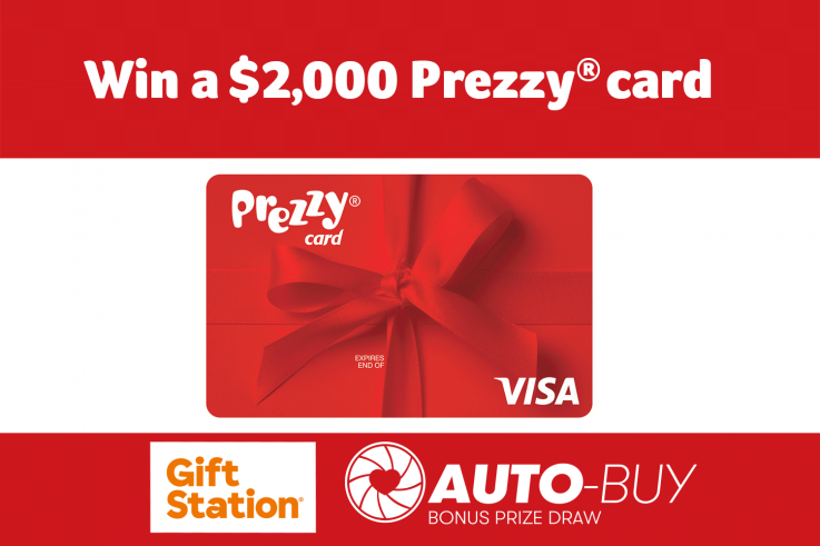 Win a $2000 prezzy card