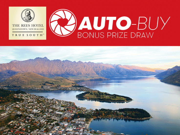 Lottery No. 110 Auto-Buy prize: Win a 2-night getaway for two to Queenstown, worth $2,135