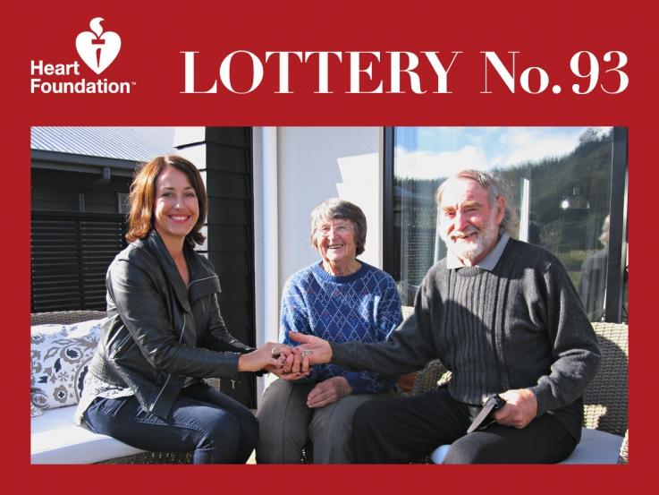 Heart Foundation Lottery No. 93 winner - Whangamata