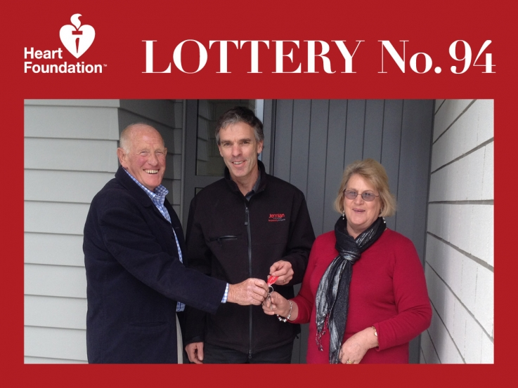 Heart Foundation Lottery No 94 winner - Kinloch