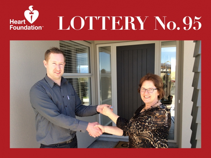 Heart Foundation Lottery No. 95 winner - Wanaka