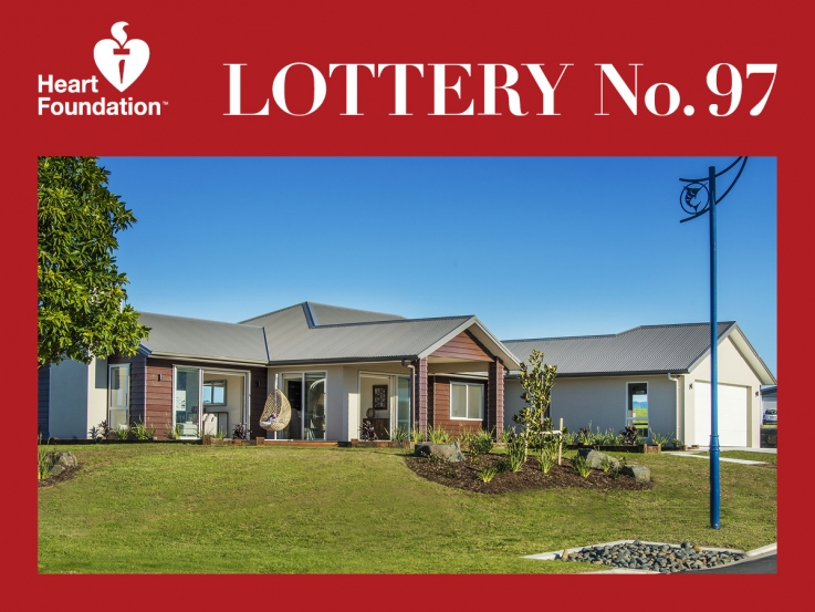 Heart Foundation Lottery No. 97 1st prize winner - Whitianga