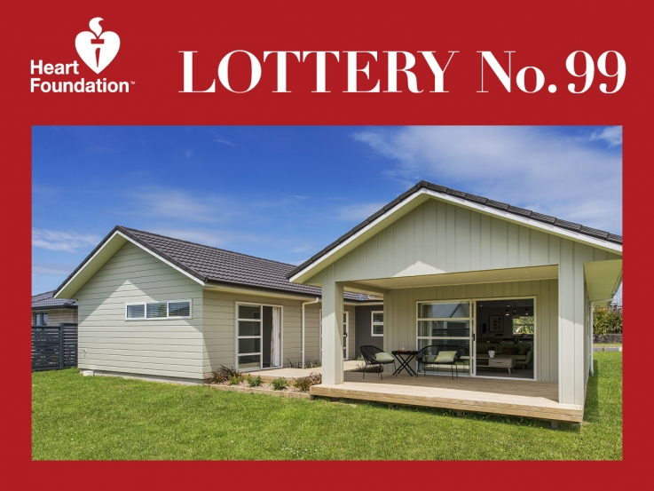 Heart Foundation Lottery No. 99 1st prize winner - Omokoroa