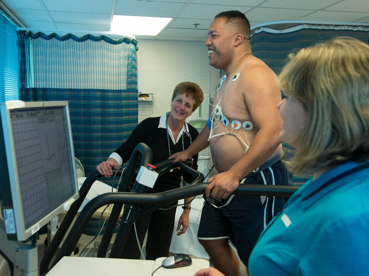 treadmill test hospital treatment