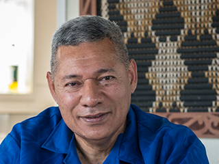 His Pacific family was supportive of this lifestyle changes following an aortic dissection