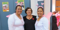 The Lotu Moui fairies are spreading the word on the benefits of good nutrition