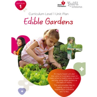 Free edible gardens lesson plan templates for teachers