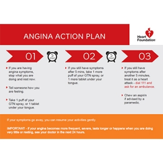 Angina action plan