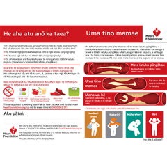 Angina pamphlet in Maori language