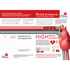 Blood pressure and your heart