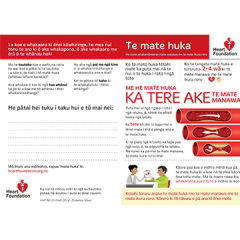 Diabetes brochure in Maori