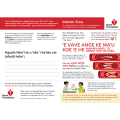 Diabetes resource in Tongan