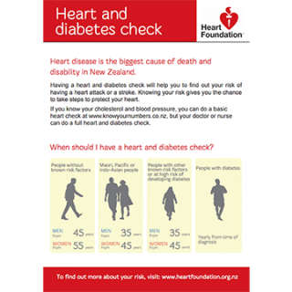 heart and diabetes check
