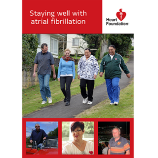 Living with atrial fibrillation - booklet preview